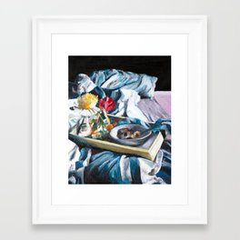 Breakfast in Bed, No. 2 Framed Art Print