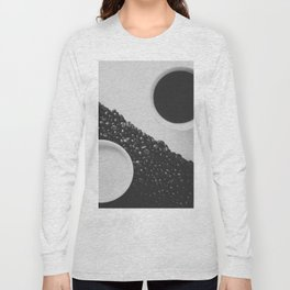 Black and White Coffee Long Sleeve T-shirt