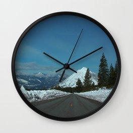 Black Butte Snow Cap. Wall Clock