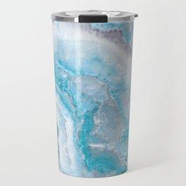 Ocean Foam Mermaid Marble Travel Mug