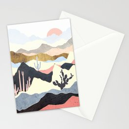 Desert Summer Stationery Cards