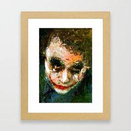 JOKER ART Framed Art Print