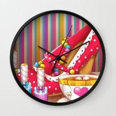 Tea Lovely Wall Clock