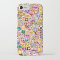 emoji iPhone & iPod Cases featuring emoji / emoticons by Marta Olga Klara