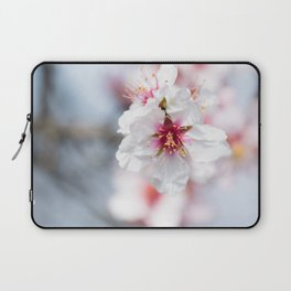 Blossom of the almond tree Laptop Sleeve