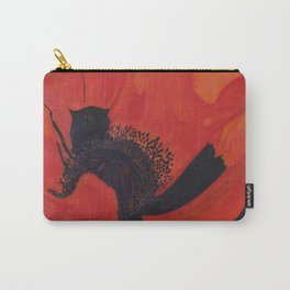 Dancing Poppy Carry-All Pouch
