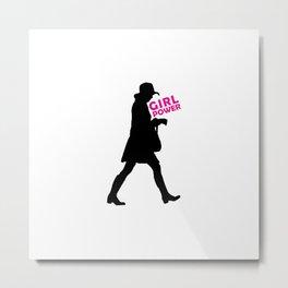Girl Power Concept Print Metal Print