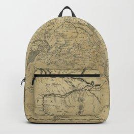Map of Ukraine (1648) Backpack