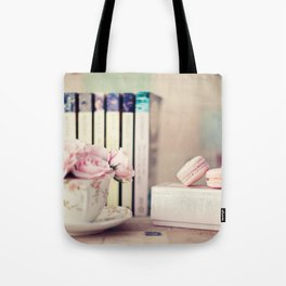Comfort Reading Tote Bag
