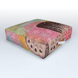 Life Cycles Outdoor Floor Cushion