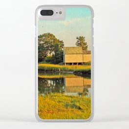Cape Cod Eastham Eventide Clear iPhone Case