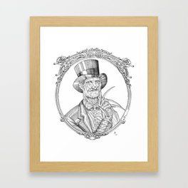Fancy Freddy Framed Art Print