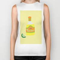 tequila Biker Tanks featuring Tequila Tuesdays by Tyler Pentland