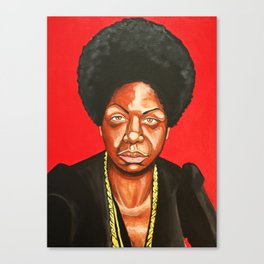 "Nina Simone ""Revolutionary"" Canvas Print"
