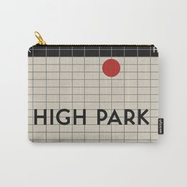 HIGH PARK   Subway Station Carry-All Pouch