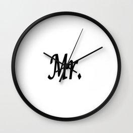 Mr. Wall Clock