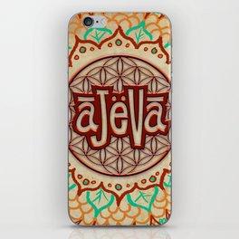 Ajeva Logo Banner iPhone Skin