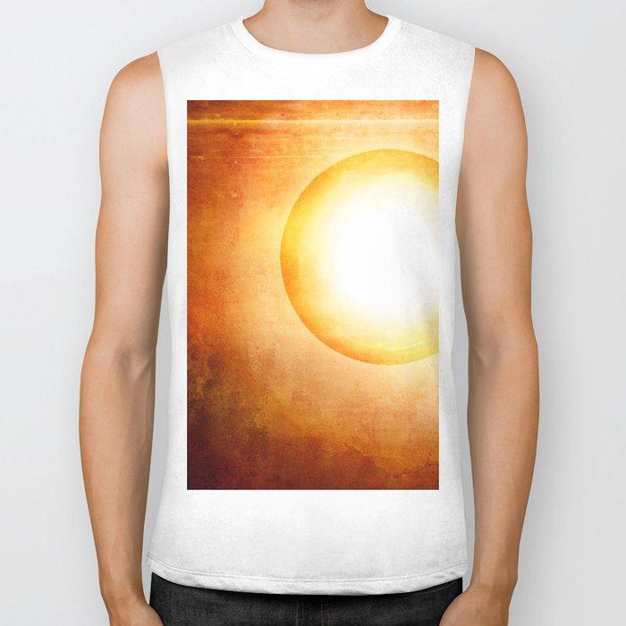 The Cosmic Sun Biker Tank