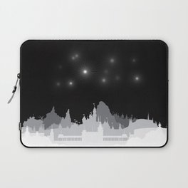 Fireworks at night. Laptop Sleeve