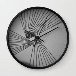 Gray Explicit Focused Love Wall Clock