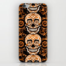 Halloween Calaveras iPhone & iPod Skin