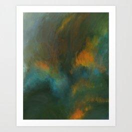 Meadow on Fire Art Print