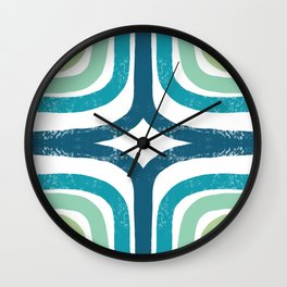 Green with Envy Wall Clock