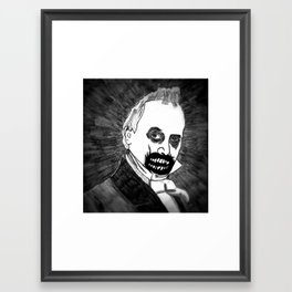 15. Zombie James Buchanan  Framed Art Print