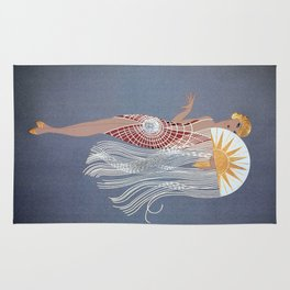 "1920's Art Deco Design ""The Flapper"" Rug"