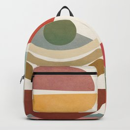 Modern Abstract Art 77 Backpack