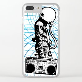 Cosmovibes Clear iPhone Case