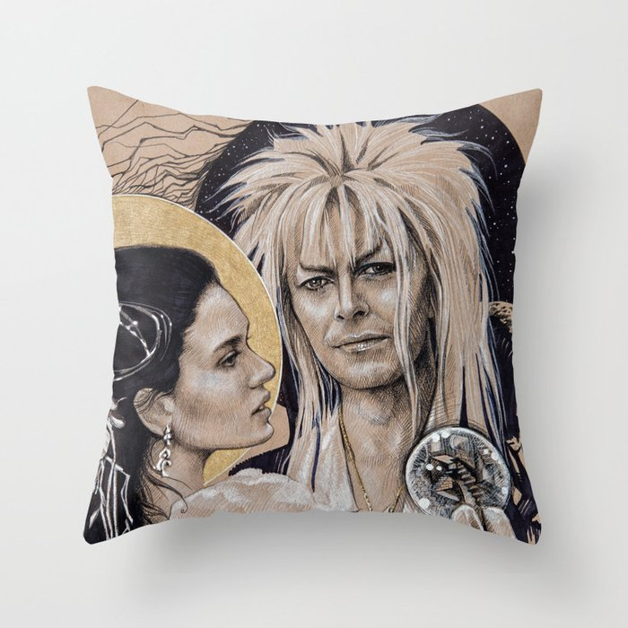 """And I have done it all for you"" Throw Pillow"