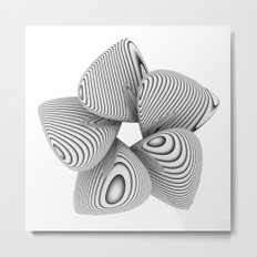 Bio Flower Art Print Metal Print