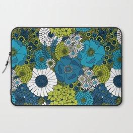 Vintage Florals Chrysanthemum Laptop Sleeve