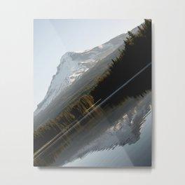 Mountain Slide Metal Print