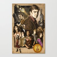 firefly Canvas Prints featuring Firefly by odysseyart