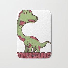 Zombie Dinosaur Movie Funny Apocalypse Gift Bath Mat