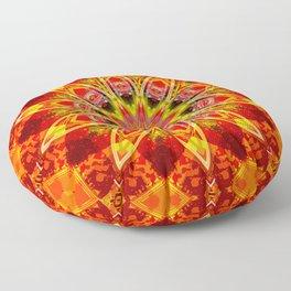 Friendship Star Traditional Quilt Pattern Floor Pillow