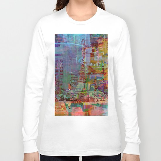 Somewhere in the city Long Sleeve T-shirt