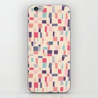 grid iPhone & iPod Skins featuring grid by Marta Olga Klara