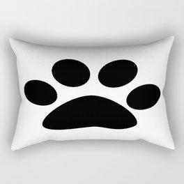 Furry Paw Rectangular Pillow