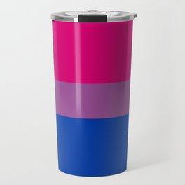 Bisexual Pride Flag LGBTQ Travel Mug