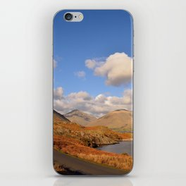 wastwater lake cumbria england iPhone Skin