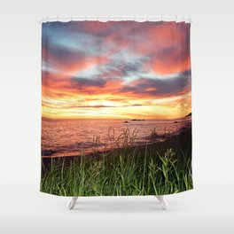Dawn and the Grass Shower Curtain
