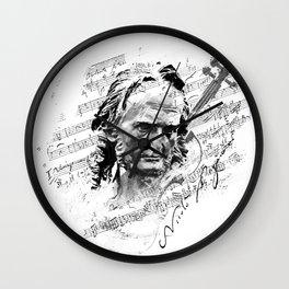 Niccolò Paganini Wall Clock