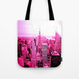 New York City Pink Tote Bag