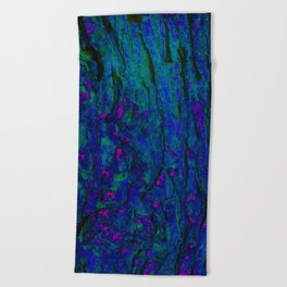 Psychedelic Trip Beach Towel