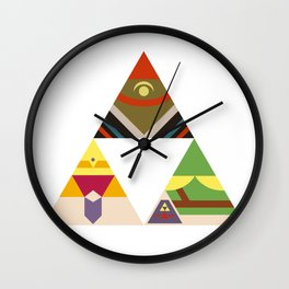 The Legend of Zelda: Legend of the Triforce Wall Clock