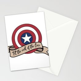Til the end of the line Stationery Cards