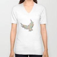 phoenix V-neck T-shirts featuring Phoenix by gretzky